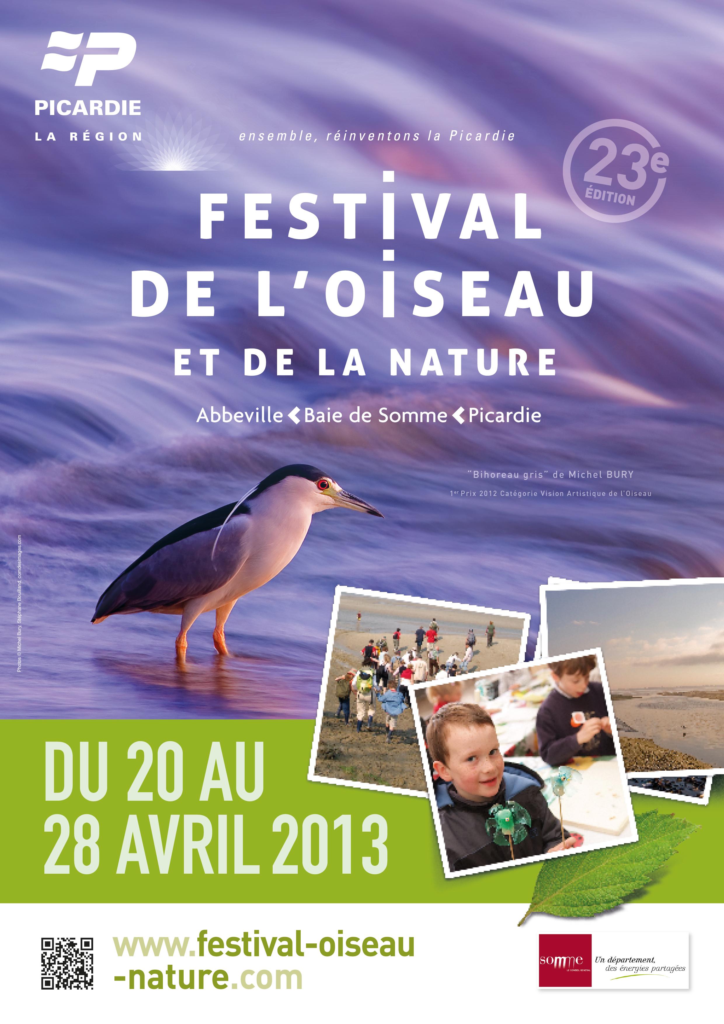 80 - Abbeville • Village photo du Festival de l'Oiseau et de la Nature