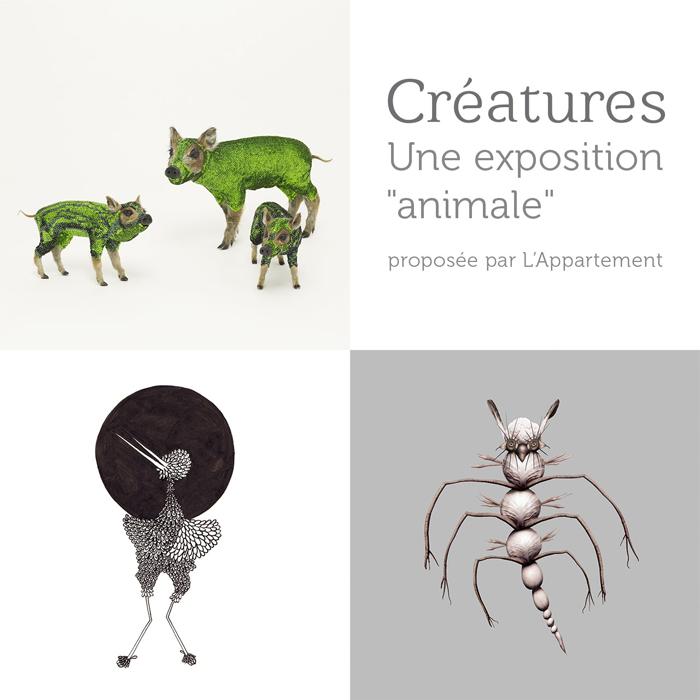 13 - Marseille • Exposition Créatures