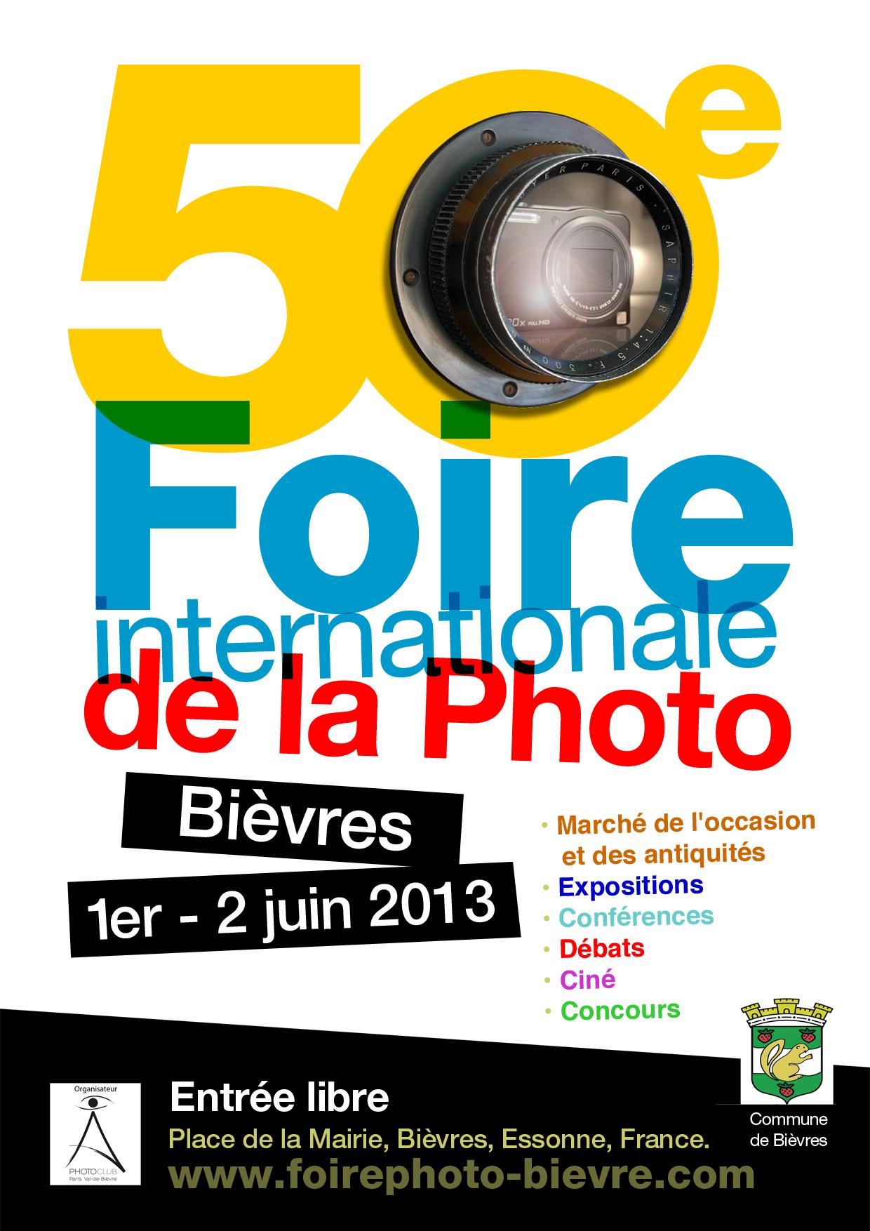91 - Bièvres • 50e Foire Internationale de la Photo à Bièvres