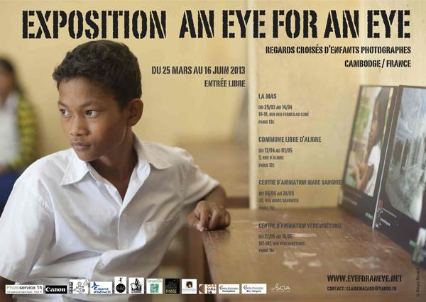 75 - Paris • Exposition An Eye For An Eye France-Cambodge