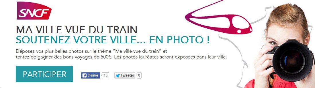 75 - Paris • 4e édition du concours photo SNCF