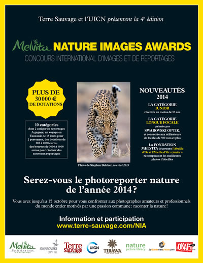 Concours • Melvita Nature Images Awards 2014