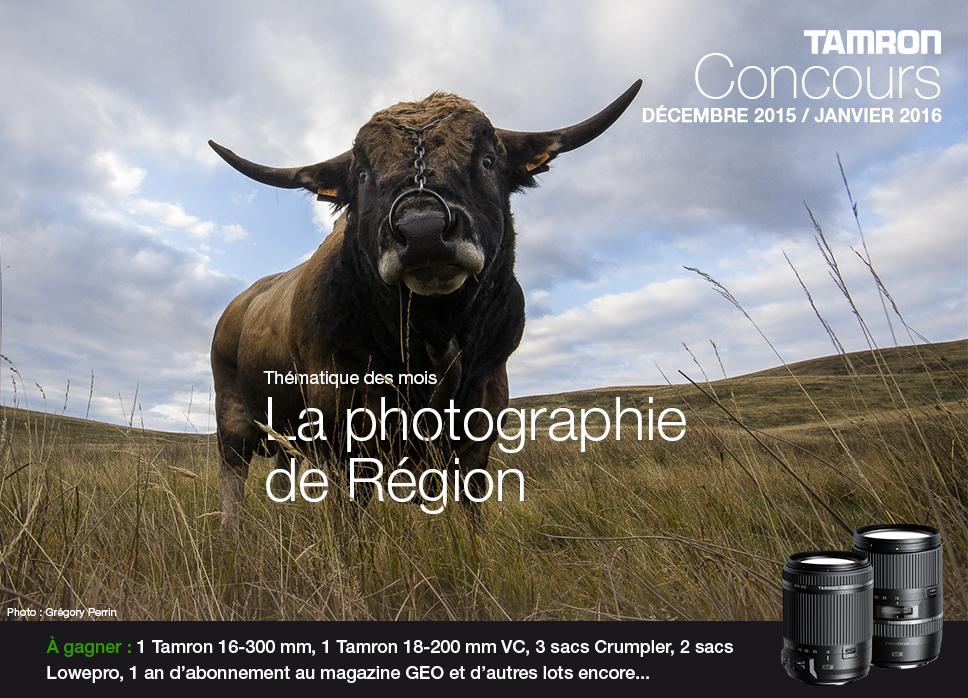 Concours photo • La Photographie de Région (Tamron)