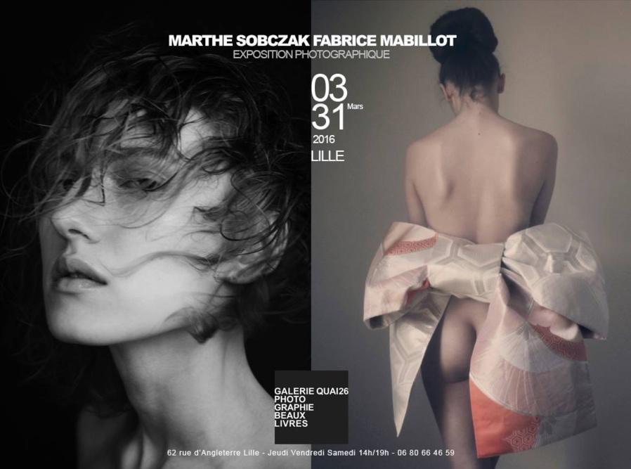 59 - Lille • Exposition photo de Marthe Sobczak et Fabrice Mabillot (Galerie Quai26)