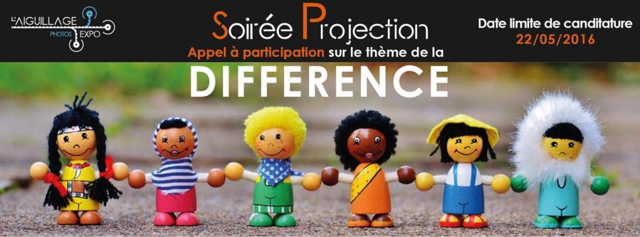 Appel à candidatures • Projection sur le thème de la Différence
