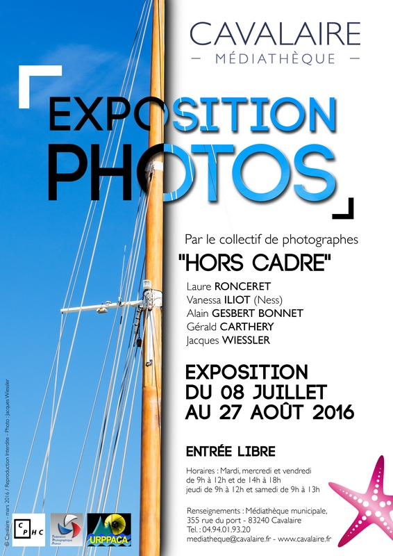 83 - Cavalaire-sur-mer • Exposition photo du collectif Hors cadre (Médiathèque)