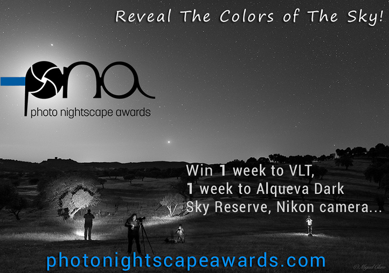 Concours photo • Photo Nightscape Awards, 3e édition