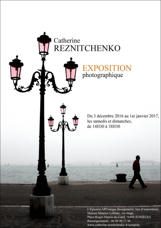 76 - Jumièges • Exposition photo de Catherine Reznitchenko (L'Épicerie ARTistique)