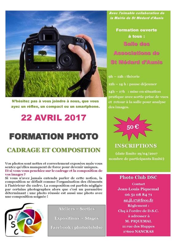17 - Saint-Médard-d'Aunis • Stage photo