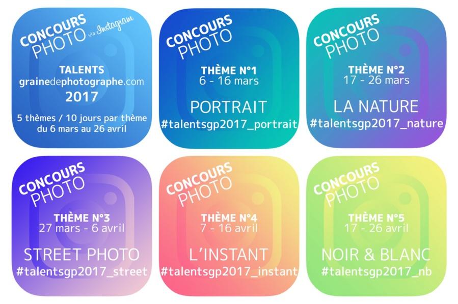 Concours photo • Talents grainedephotographe.com, 3e édition