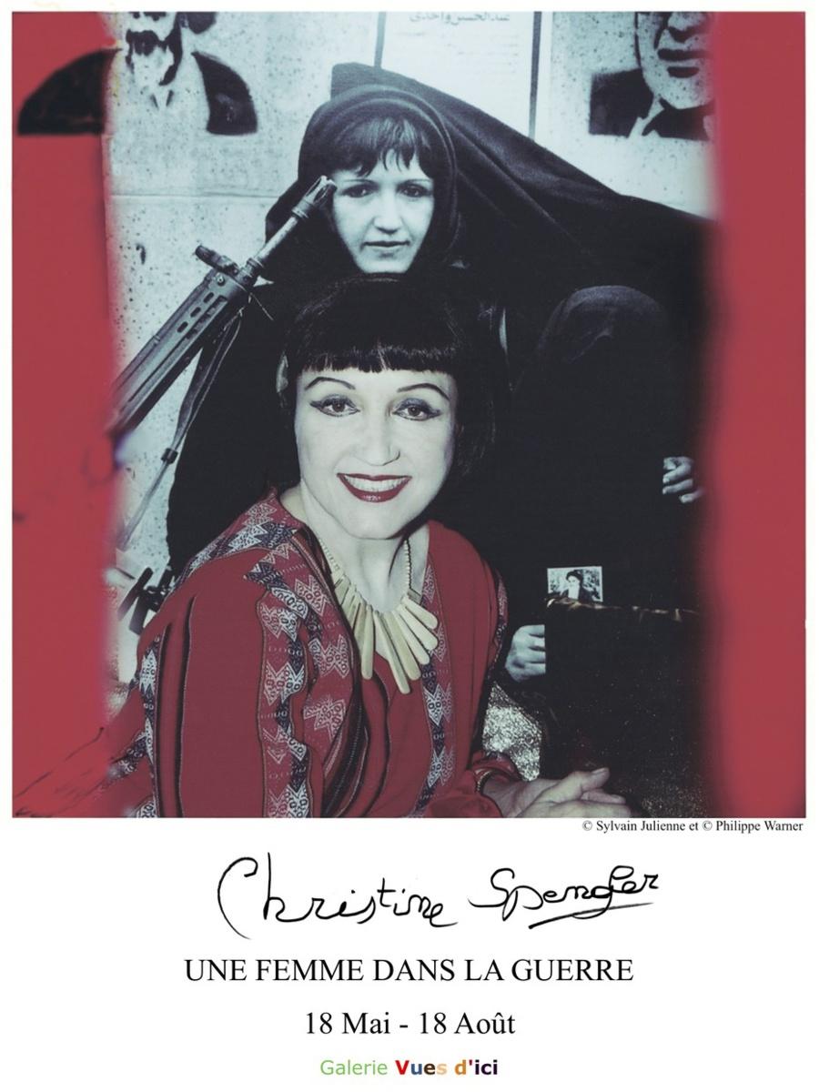 47 - Duras • Exposition photo ''Une femme dans la guerre'' de Christine Spengler (Galerie Vues d'ici)
