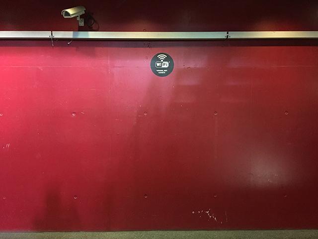 Même les murs du Salon sont rouges...