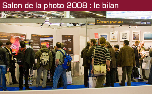 Salon de la Photo 2008 : le bilan