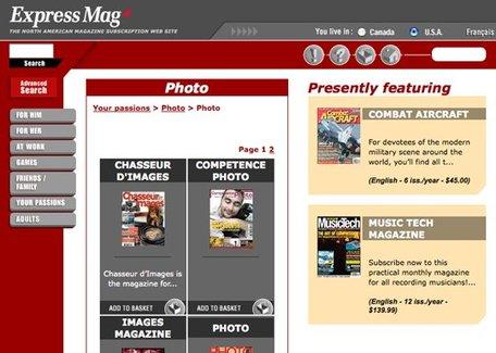 Le mag disponible au Canada et USA