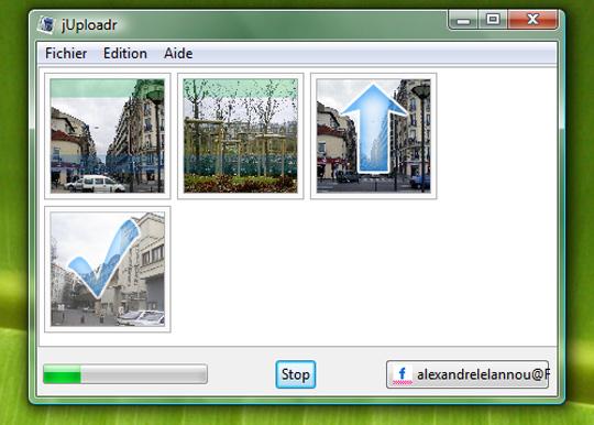 Téléchargez jUploadr pour transférer rapidement vos photos sur Flickr