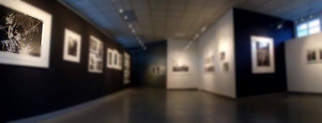 L'exposition d'Alain Laboile à La Fontaine Obscure (Aix-en-Provence). Venez lever le voile pour la découvrir. © Anne Barroil
