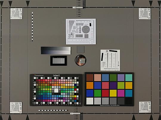 Photo-test réalisée en labo avec le P10 de Huawei.