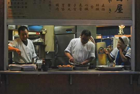Restaurant Ropongi. © Isabelle Loriot