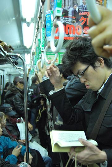 Bulles dans un brouhaha de métro. © Isabelle Loriot
