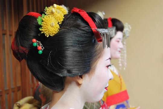 Geisha à Kyoto, rencontre avec la grâce et la délicatesse. © Isabelle Loriot