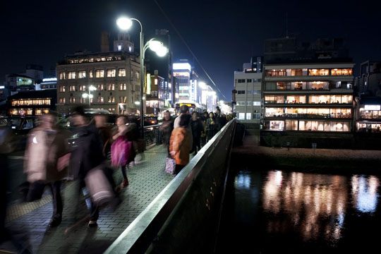 Mouvement des piétons dans la ville. © Fabrice Delanoue
