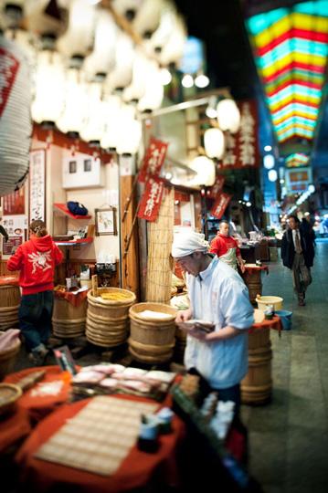 Ambiance au marché. © Fabrice Delanoue