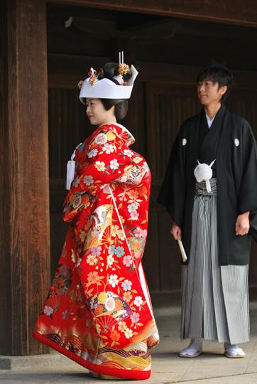 Mariage japonais. © Isabelle Loriot