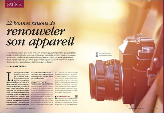 Compétence Photo Numéro 61, en kiosque le 27 octobre 2017
