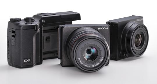 Le Ricoh GXR est un surprenant compact modulaire