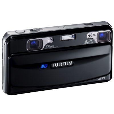 Le compact bi-objectif Fujifilm W1 préfigure le futur de la photographie : la 3D.