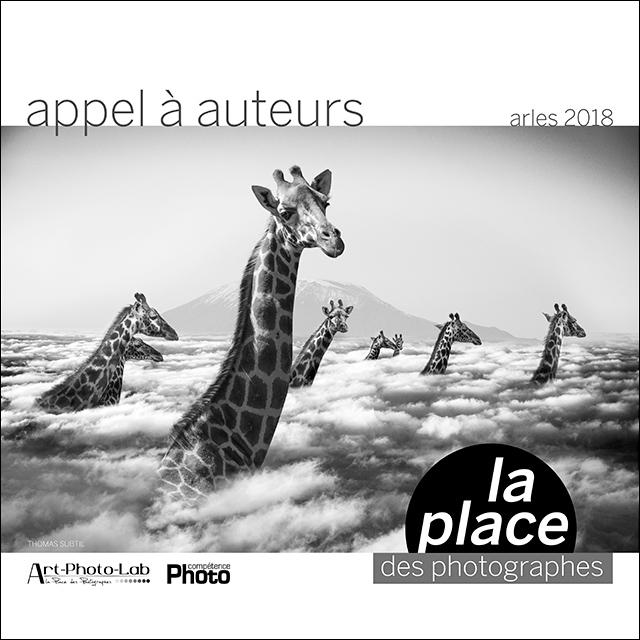 Appel à auteurs (Arles 2018) de La Place des photographes, en partenariat avec Compétence Photo