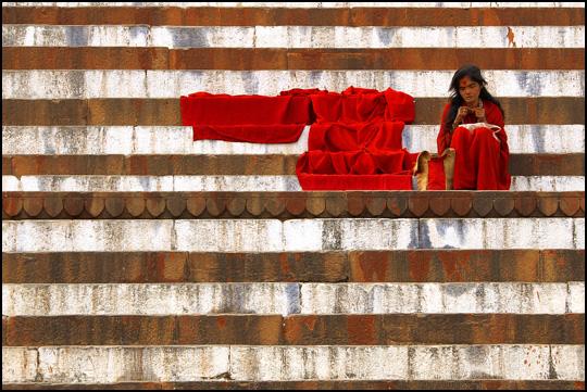 La femme en rouge • Patrice Carré