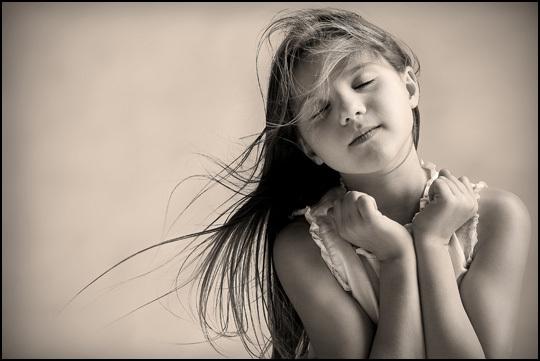 An angel • Anna Garrigou