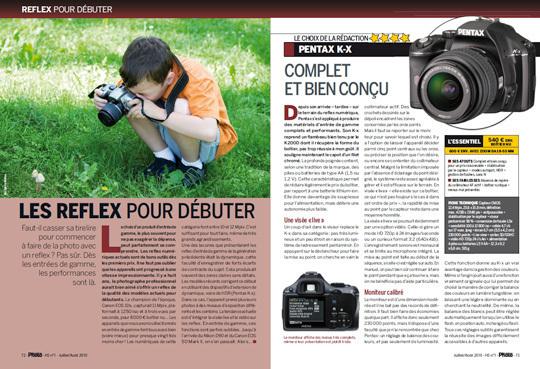 Notre Guide d'Achat Matériel Eté 2010