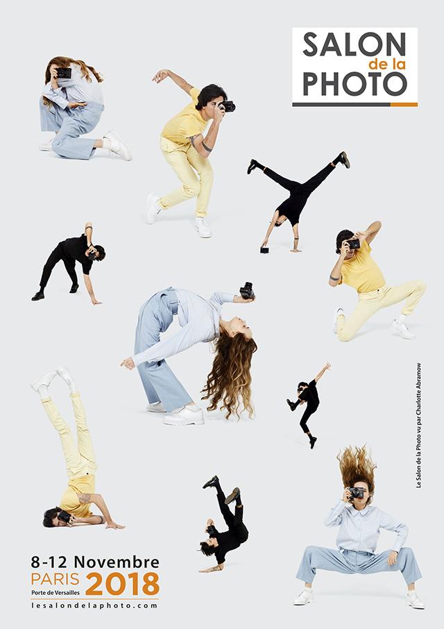 Le Salon de la Photo dévoile l'affiche officielle de l'édition 2018, avec Charlotte Abramow