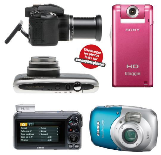 Guide d'achat HS n°1 • Compacts : les photos test