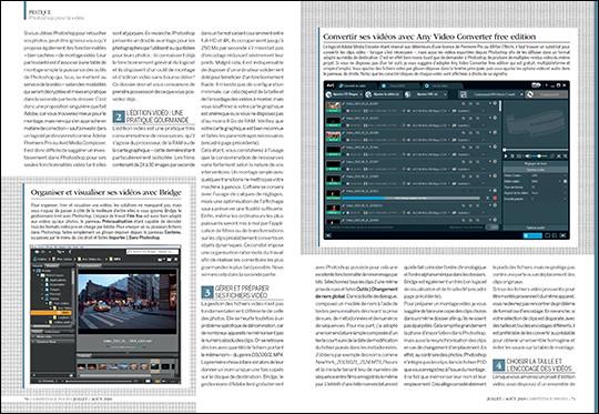 """Téléchargez les vidéos du dossier """"Bien débuter l'édition vidéo avec Photoshop"""" (guide pratique) - Compétence Photo n°65"""