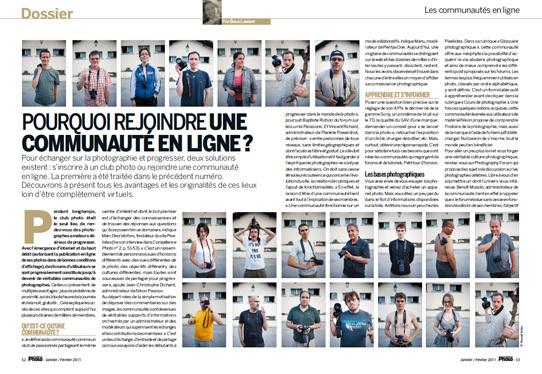 Compétence Photo Numéro 20, en kiosque le 6 janvier 2011