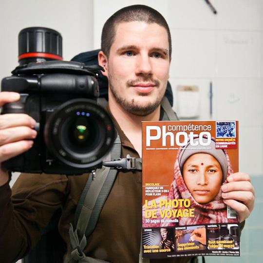 Compétence Photo va prendre l'air au Népal. Merci Rémi !