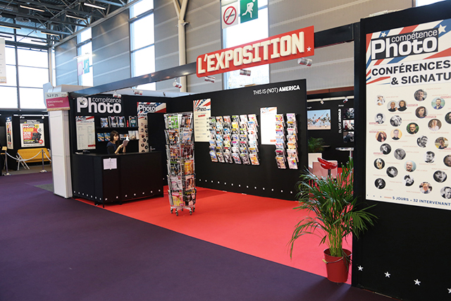 Stand de Compétence Photo au Salon de la Photo 2017