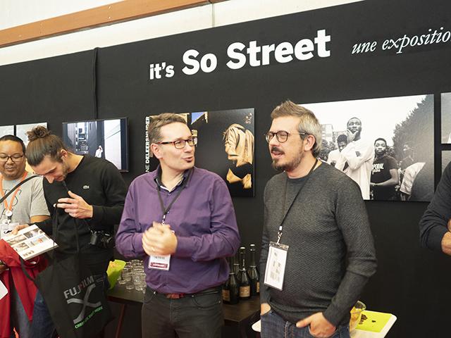 Remise des prix de l'exposition it's So Street organisée par Compétence Photo, en partenariat avec Fujifilm, Art Photo Lab et Asus France