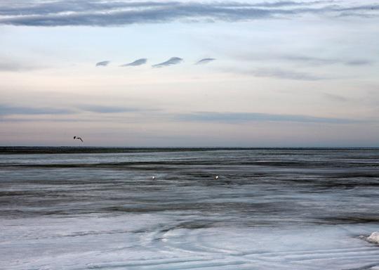 Le Lac Supérieur vers Nipigon.