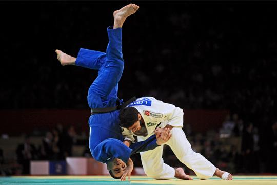 36ème édition du Tournoi de judo de Paris à Bercy.
