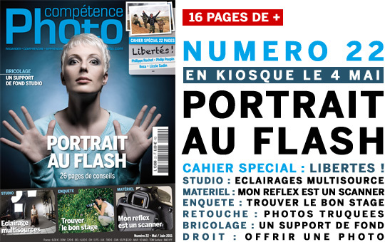 Compétence Photo Numéro 22, en kiosque le 4 mai 2011