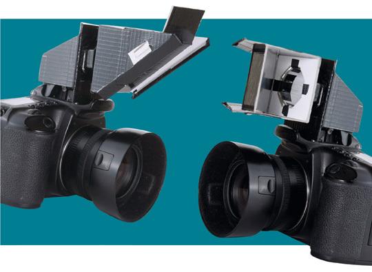 Fabriquer une tête orientable pour son flash intégré