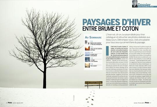 PHOTO DE PAYSAGE 2/2 : les 4 saisons • Découvrez nos dossiers pratiques