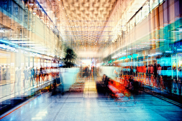 Shopping. © Vincent Leroy