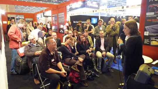 Planning des conférences Compétence Photo au Salon de la Photo 2011
