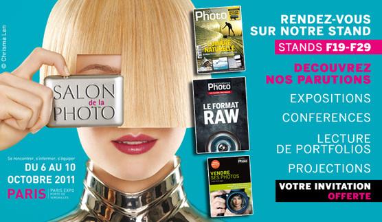 Le programme complet de Compétence Photo au Salon de la Photo