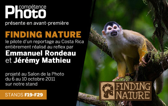 Le pilote de Finding Nature, d'Emmanuel Rondeau et Jérémy Mathieu, en avant-première au Salon de la Photo